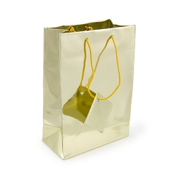 Tote Bag 4x6 Metallic Gold (20-Pcs)
