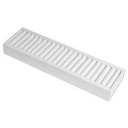 Large Bangle Display Tray White