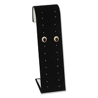 Stud Earring Display Stand Black