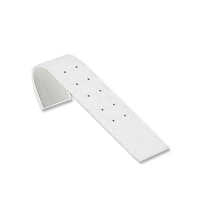 Stud Earring Display Ramp White