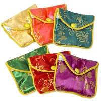 Fancy Pouch Small Floral (Dozen)