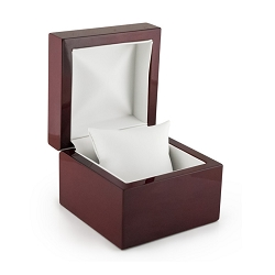 Watch Box w/Display Pillow Rosewood Veneer