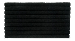 Black Foam Standard Size Multi-Slot Ring Pad Insert