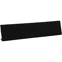 Earring Display Bar Black