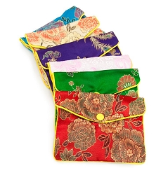 Fancy Pouch Medium Oriental Style (Dozen)