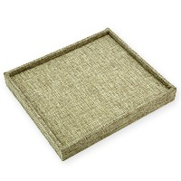 Burlap 36 Ring Display Tray