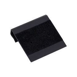 Earring Card 1x1 Black Flocked (100pcs)