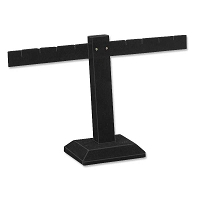 Earring Display Stand T Bar Jewelry Display  Black
