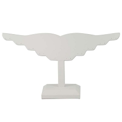 Earring Display Stand White (Holds 10 Pairs)