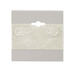Hanging Earring Cards Grey 2