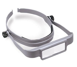 OptiSIGHT Magnifier with 3 Lens Plates Included