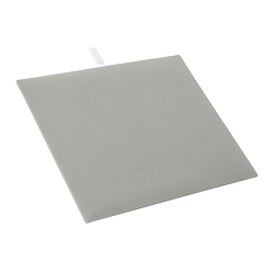 Gray Velvet 1/2 Size Jewelry Display Pad