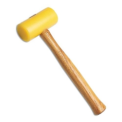 Jewelers Yellow Plastic Mallet (Face Diameter 1-3/4)