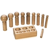 10 Piece Wood Dapping Set