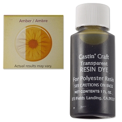 Transparent Amber Resin Dye (1-Oz)