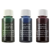 Transparent Resin Dye Assortment Red, Green and Blue