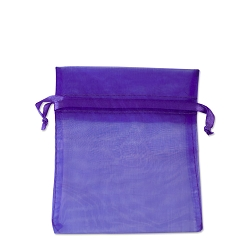 Organza Bags 3x4 Purple (10-Pcs)