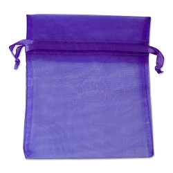 Organza Bags 4x5 Purple (10-Pcs)