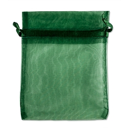 Organza Bags 4x5 Hunter Green (10-Pcs)