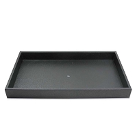 Plastic Stackable Jewelry Tray 1-1/2