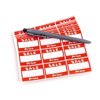 Sale Adhesive Price Label (Pack of 504)