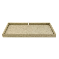 Burlap Project Tray and Pad