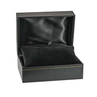 Black Watch Box with Black Pillow 3x4