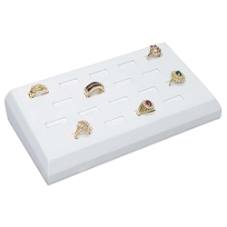Ring Display 18 Slots White