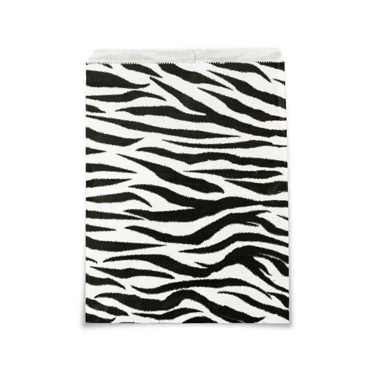 Gift Bags Zebra Print 5 x 7 (100-Pcs)  sc 1 st  Jewelry Displays u0026 Boxes : black and white gift bags - medton.org