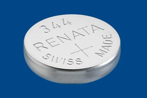 344 Watch Battery - Batteries for Watches SR1136SW
