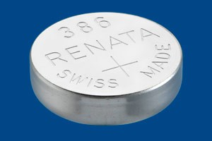 386 Watch Battery - Batteries for Watches SR43W