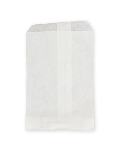 Paper Jewelry Bags 4 x 6 White (100-Pcs)