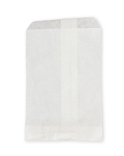 Paper Jewelry Bags 5 x 7 White (100-Pcs)