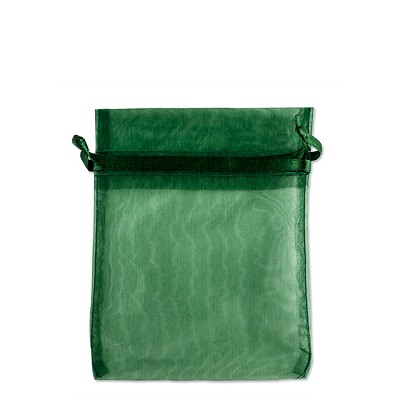 Organza Bags 3x4 Hunter Green (10-Pcs)