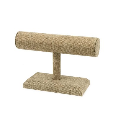 "Burlap T-Bar Display 7-1/2"" x 4-7/8"""