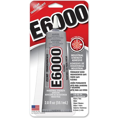 E6000 Glue 2 oz. Clear