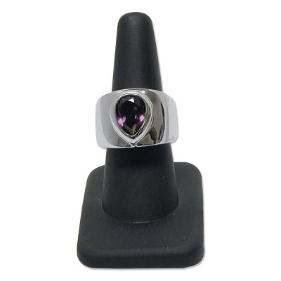 Ring Finger Display Rubber Black