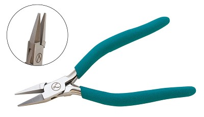 Wubbers Narrow Flat Nose Pliers 6 1/2""