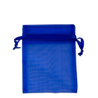 Organza Bags 3x4 Royal Blue (10-Pcs)